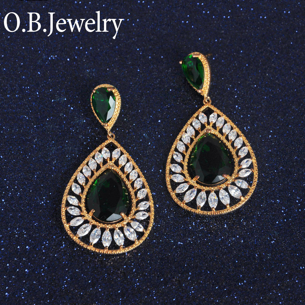 dubai gold jewelry earrings