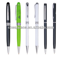 Promotional metal customized ball pen oil liquid metal pen