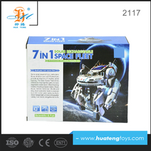 china factory wholesale robot solar toy educational kit for kids