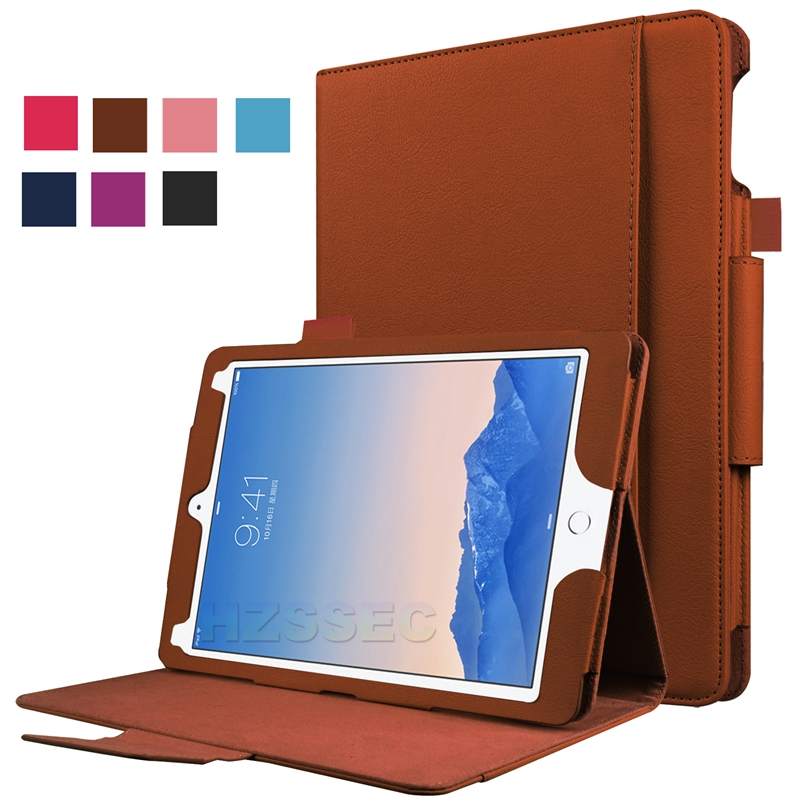 Flip Stand Leather Bluetooth Keyboard Case for Apple iPad Pro 9.7