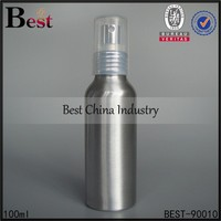 2015 Best china industry new products aluminum bottles,metal sprayer bottle for liquor brandy, whisky, gin, vodka, rum, tequila