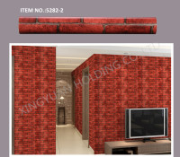 Brick Pattern Waterproof Vinyl PVC Self adhesive Film Decorative Wallpaper