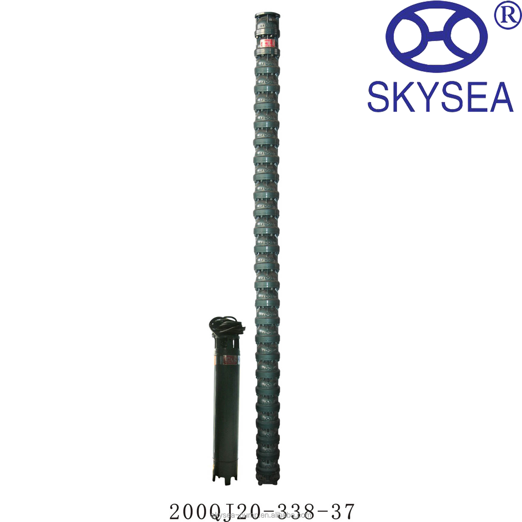 agriculture irrigation submersible pumps 250m3/h water pump 8 inch deep well water pump