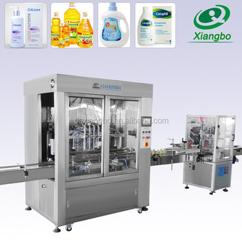 Factory Sale Automatic Liquid Filling Sealing Machine for Liquid Detergent