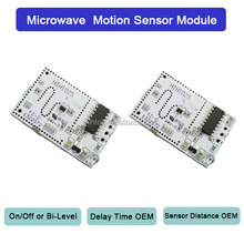 2.9GHz Motion Detector Microwave Motion Sensor HIH102 for Tube Light