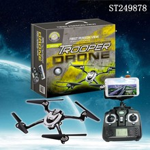 2015 Newest Item ! High Performance 2.4G Trooper Drone rc quad -rotor helicopter with camera
