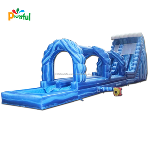 Commercial inflatable water slide slip n slide giant inflatable slide for kids and adult