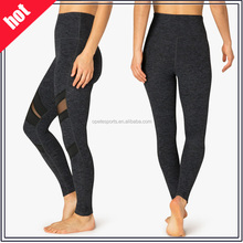 (OEM/ODM Factory Trade Assurence)wholesale Hot Sexy Womens Sports Mesh Yoga Pants