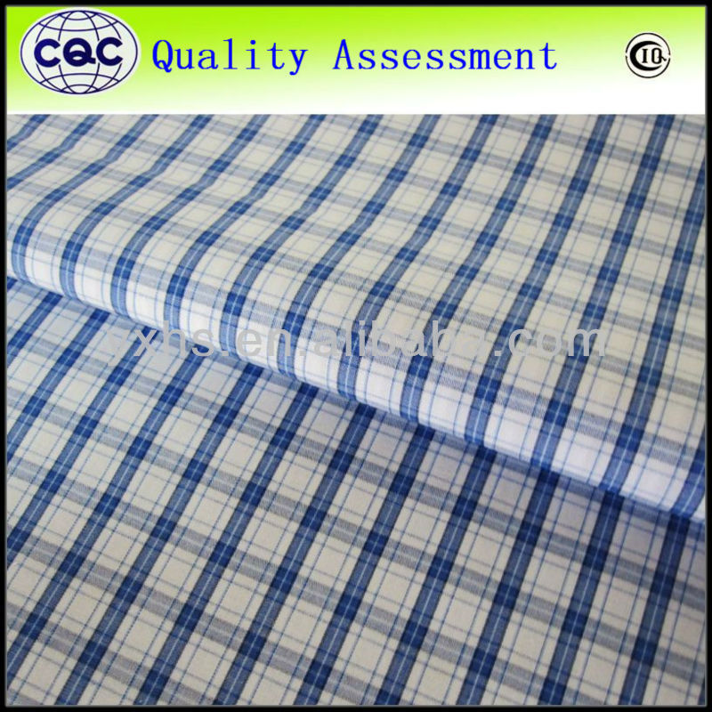 100% Cotton Woven Yarn Dyed Shirt Fabric Mills