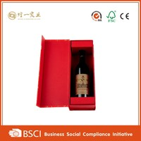 cheap customized paper cardboard wine bottle gift box