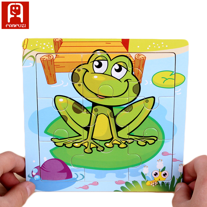 children early educational toy animal puzzle
