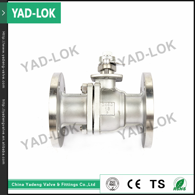 YAD-LOK Stainless Steel Pneumatic Water Control Manual Operate 1 Inch Ball Valve