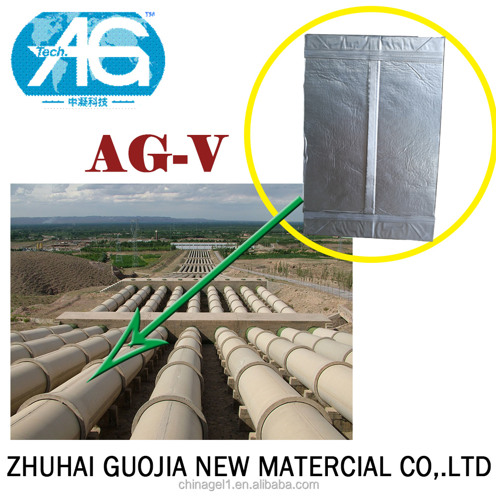 AG-V 10mm Heavy Industry Pipeline Cold Process Pipe Insulation Aerogels Vacuum Insulation Plank