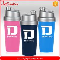 700ml Fashionable Leak Proof BPA Free Plastic Sport Shaker Bottle With Filter