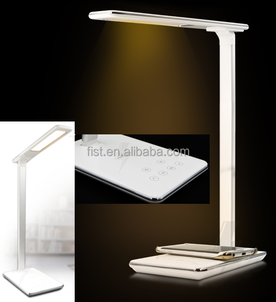 2016 Hot Selling Touch Table Lamps With Qi Wireless