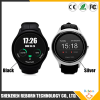IPS screen android 4.4 D5 smart watch cell phone watch with heart rate monitor