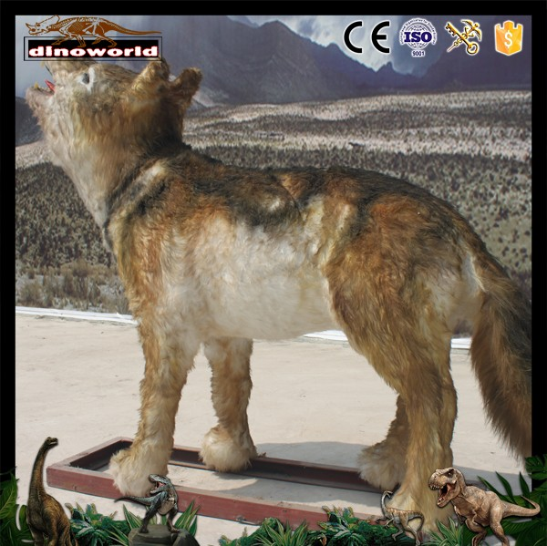 DW-0501 High Simulation Life size wild animal model Wolf
