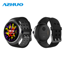 <strong>Z10</strong> Smart Watch 1GB/16GB Wristwatch Android 3G WiFi GPS Heart Rate Monitor Support SIM Card Amoled Round Screen For iOS Android