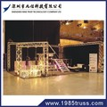 2015 popular 100*100mm mini truss , aluminum truss box spigot truss , space truss structure for exhibition on sale