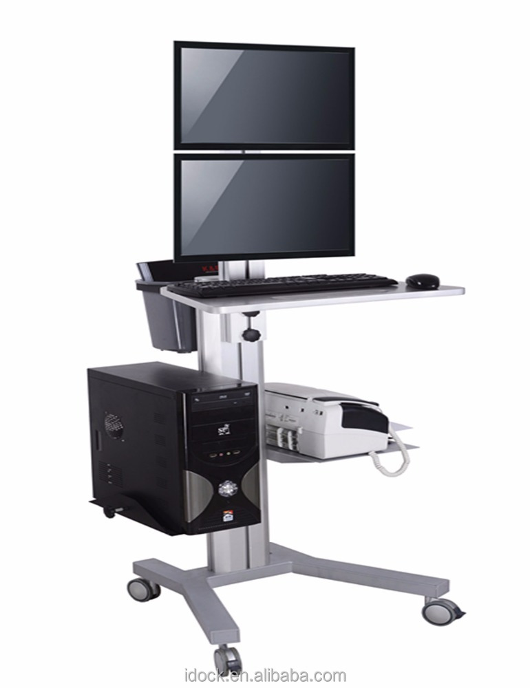 PC mobile cart/computer desk/laptop desk VZ1602A
