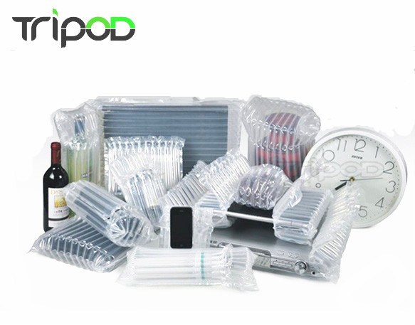 Eco - friendly shock proof inflatable plastic air packaging for red wine