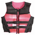 2017 Fashionable neoprene life jacket for adult customized life jacket