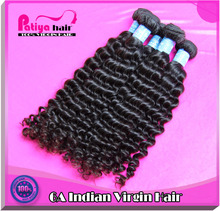 Patiya hair high reputation supplier best price & romance cheap unprocessed raw virgin indian deep curly hair