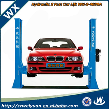 Hot Sales Hydraulic Workshop 2 Post Car Lift Hoist/Used 2 Post Quick Lift Car Lift WX-2-4000A 4000KGS