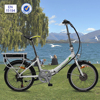 "2016 hot sale cheap electric folding bike 20"" with carrier battery 36V/250W"