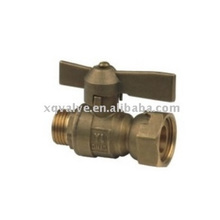 China Made Professional Double Union Valves One Piece Type Brass Ball Valve Female Thread