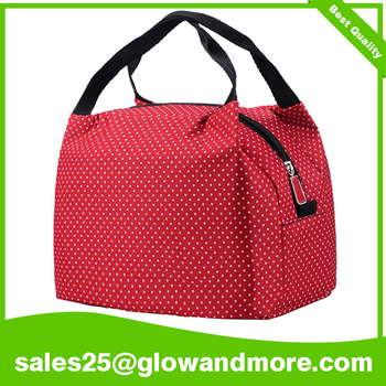 High Quality Factory Custom Print Lunch Bag