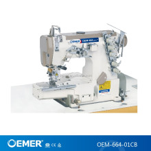 OEMER-664-01CB High speed cylinder bed interlock sewing machine Pegasus W600 cover stitch