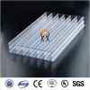 hollow polycarbonate roofing sheet/hollow polycarbonae sheet with uv layer