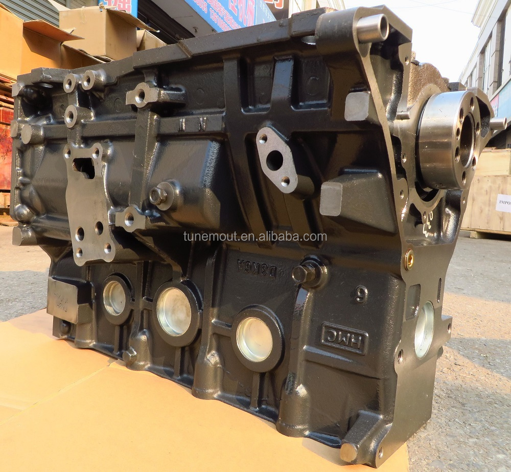 D4BH DIESEL short block engine for Hyundai car