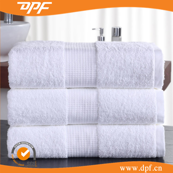 High thread count egyptian cotton velvet pile bath towels on sales