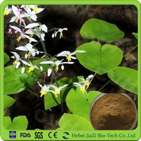 Natural food additive epimedium extract powder/ horny goat weed extract powder