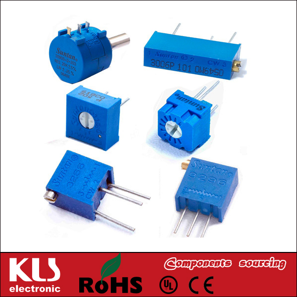 Good quality potentiometer dual 100k UL CE ROHS 87 KLS Brand