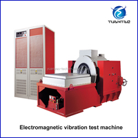 Electromagnetic type vertical vibration machine