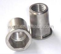 High quality M3M4M5M6M8M10 Stainless steel hex head rivet nut made in China
