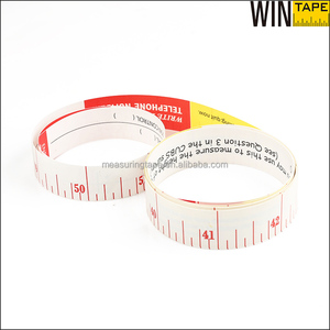 150cm Colorful Printing Waterproof Synthetic Paper Tape Measure