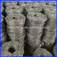 DM factory price barbed wire length per roll from anping