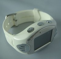 2012 latest Quad band watch mobile phone with MP3/camera/multi-language/alarm