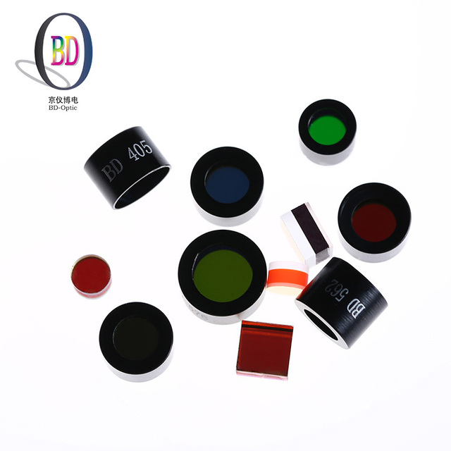 Hot sale spectrum wave length 220nm new uv glass optical filters for uv transparent glass
