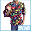 In Trend Colorful Camouflage Men S