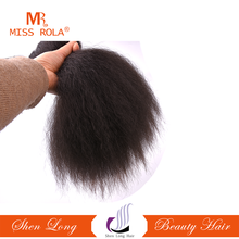 Wholesale factory price no shedding no tangle hair weaves Miss Coco hair weft best density optional inch colored synthetic hair