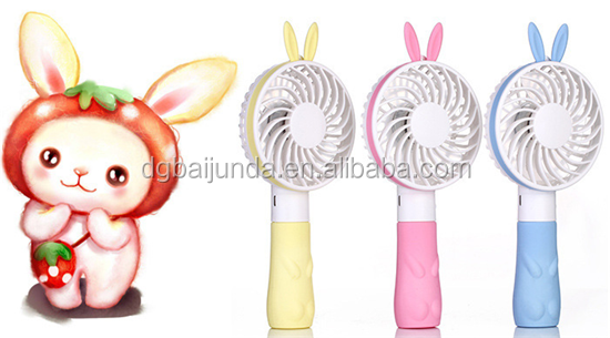 High Powered Little Bear rabbit Mini Fan