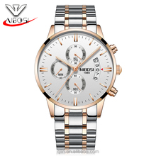 2017 New Watch 3ATM Waterproof Mens Chrono Watch with luminous hand
