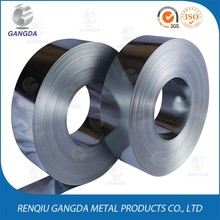 Hot dip 0.3mm 0.8mm galvanized steel strip zinc coated iron coil for corner guards building materials