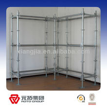 upright ringlock scaffolding