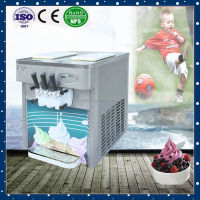 RB3020T-3 with CE certification of stainless steel automatic soft ice cream vending machine
